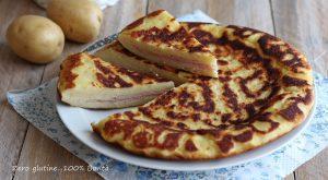 Schiacciata di patate in padella