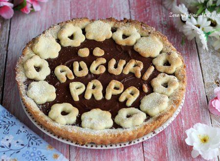 Crostata alla Nutella per la festa del papà