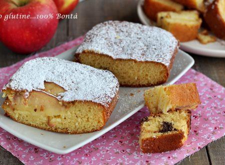 Plumcake sette vasetti alle mele e cioccolato