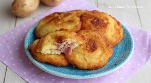 Bomboloni di patate ripieni