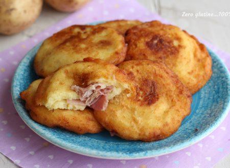 Bombette di patate ripiene di prosciutto cotto e mozzarella