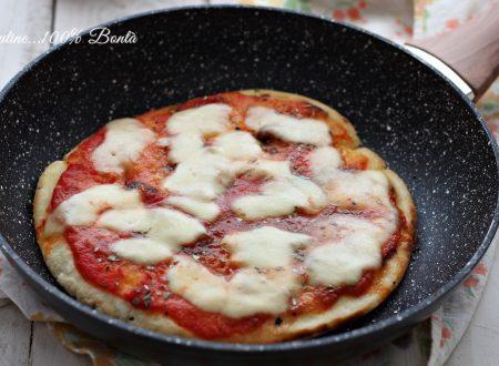 Pizza veloce in padella