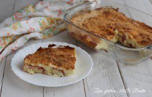 Sformato di Patate con Salame e Scamorza
