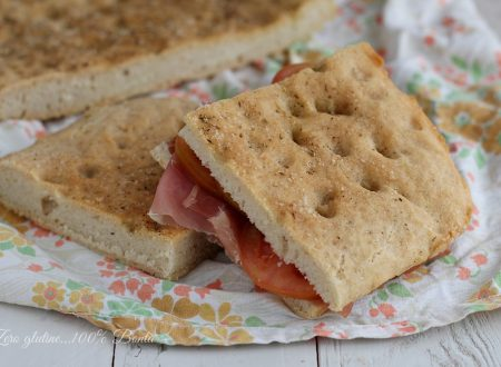 Focaccia semintegrale senza glutine