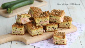Mattonella salata di zucchine e olive