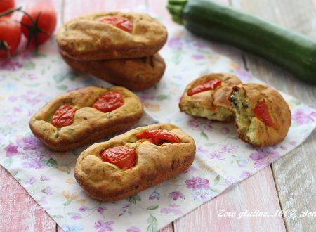Mini plumcake salati alle zucchine