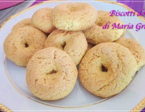 Taralli dolci di Maria Grazia