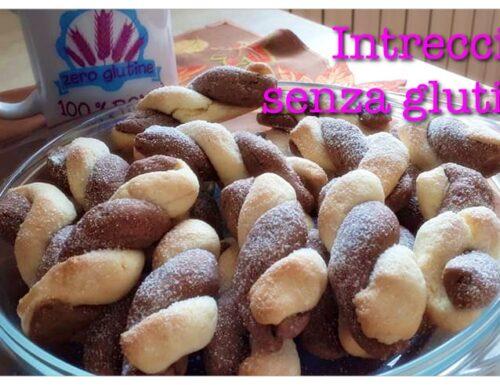 Biscotti intrecci senza glutine di Sonia