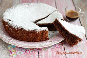 Torta al cappuccino senza glutine