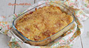 Gateau di patate con salame e mozzarella