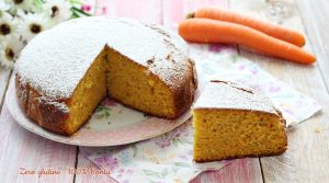 Torta camilla alle carote e yogurt