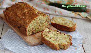 Plumcake salato alle zucchine e tonno