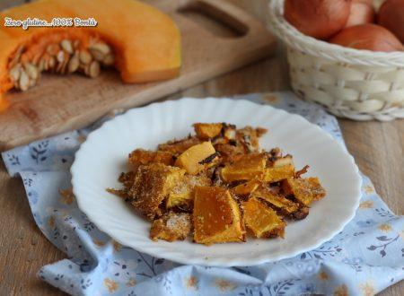 Zucca croccante e saporita al forno