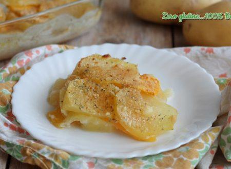 Parmigiana di patate e zucca