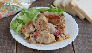 Involtini di Carne con Speck e Formaggio