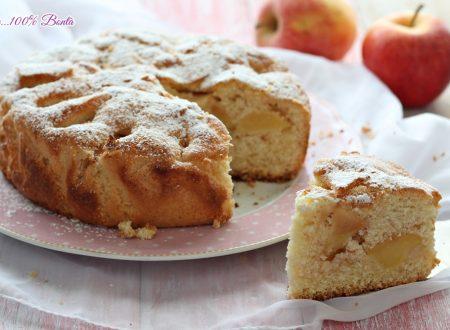 Torta di mele alla panna montata