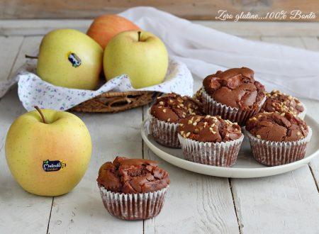 Muffin alle mele e cacao