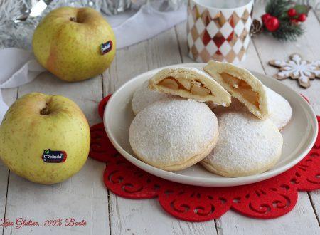 Biscotti ripieni di mele senza glutine