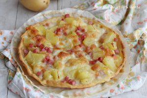 Pizza Rustica con Patate e Prosciutto Cotto