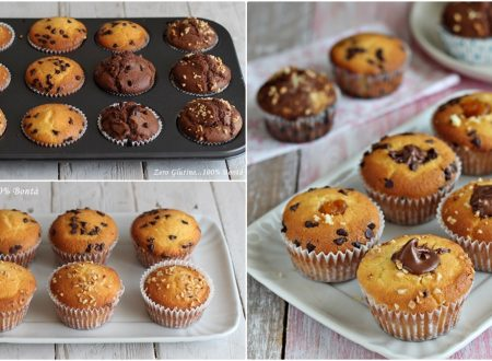 Muffin tanti gusti con solo 1 impasto
