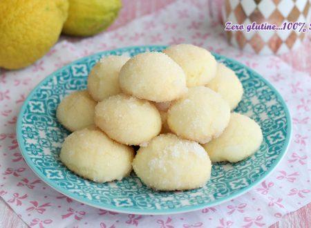 Castagnole al limone  cotte al forno