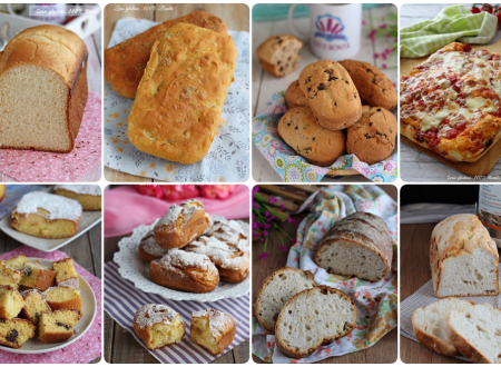 Ricette dolci e salate con la macchina del pane