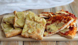 Pizza in teglia fatta in casa, senza glutine