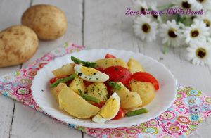 Insalata di patate primaverile