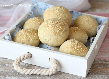 Panini semintegrali con farine senza glutine
