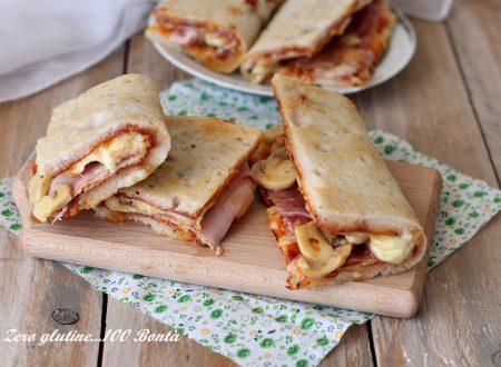 Pizzette al taglio Sarde senza glutine