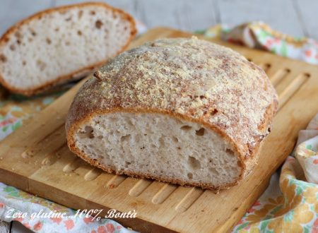 Pagnottina di pane senza impasto