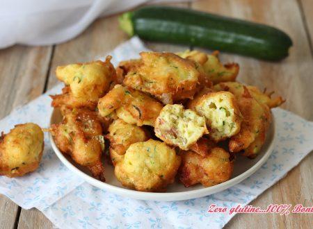 Frittelle di zucchine con prosciutto e mozzarella