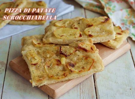 Pizza di patate scrocchiarella