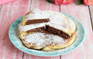 Pancake ripieni di Nutella morbidissimi