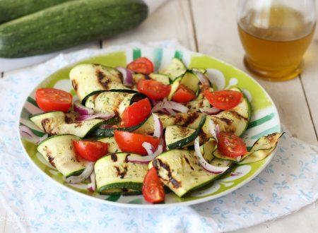 Carpaccio di zucchine grigliate