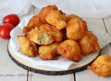 Frittelle Nuvolette al pomodoro e olive morbidissime