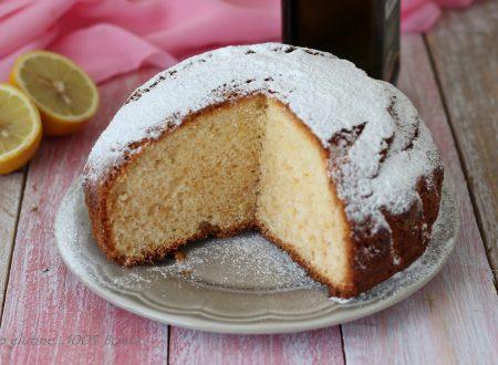 Torta al limone e olio extravergine d'oliva