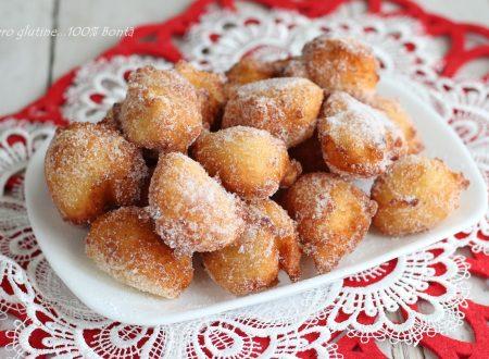 Sfinci siciliani con le patate senza glutine