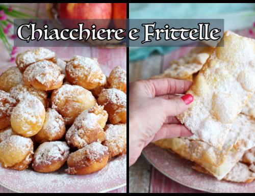 Ricette Chiacchiere e Frittelle di mele