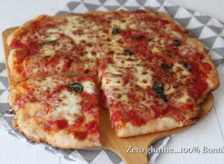 Pizza pomodoro e mozzarella
