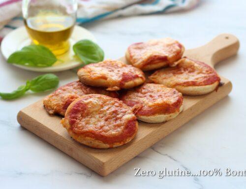 Pizzette senza lievitazione velocissime