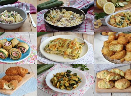 12 Ricette con le zucchine