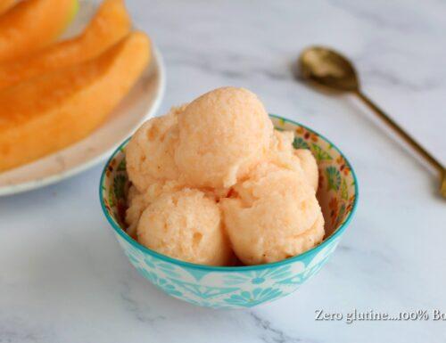 Gelato al melone senza gelatiera