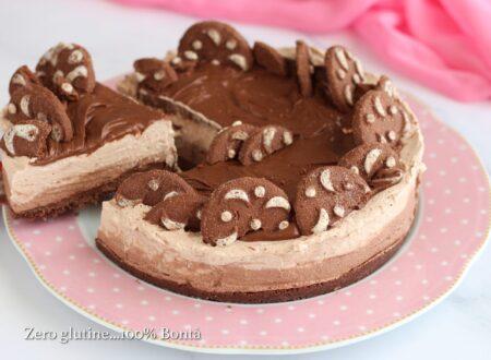 Torta fredda al cacao e nutella