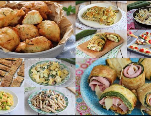 15 Ricette con le zucchine