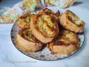 Come preparare le GIRELLE di pasta sfoglia con zucchine
