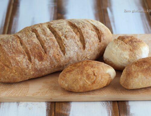 Pane e panini con  un solo impasto
