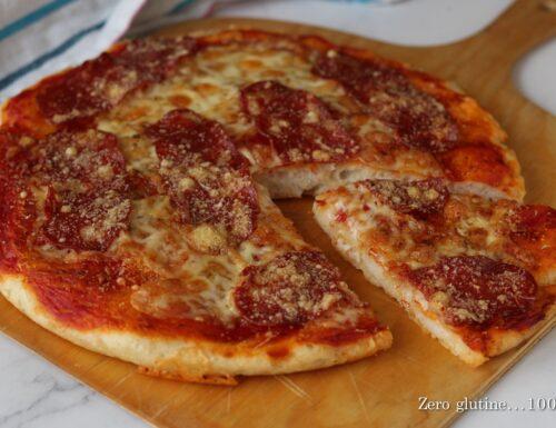 Pizza con farina Mix It e spianata piccante
