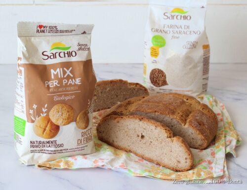 Pagnottina di pane con farina Sarchio