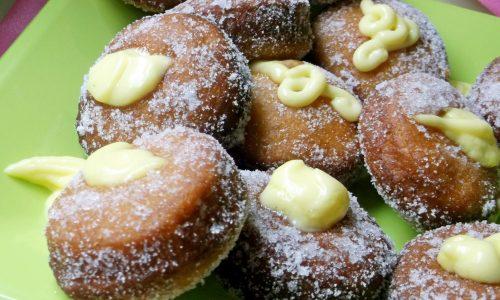 Bombe Fritte con la Crema senza glutine